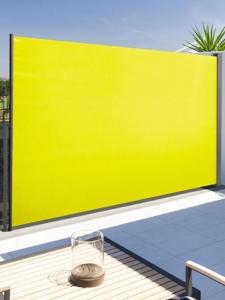 160 x 300 cm Seitenmarkise Sichtschutz Seitenrollo Windschutz Sonnenschutz aufrollbar