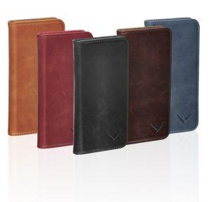 Luxury Collection Handy Klapphüllen aus Leder in verschiedenen Farben
