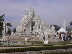 Wat Rong Khun Tempel - Foto © by Volkmar Neumann, Hagen Westf.